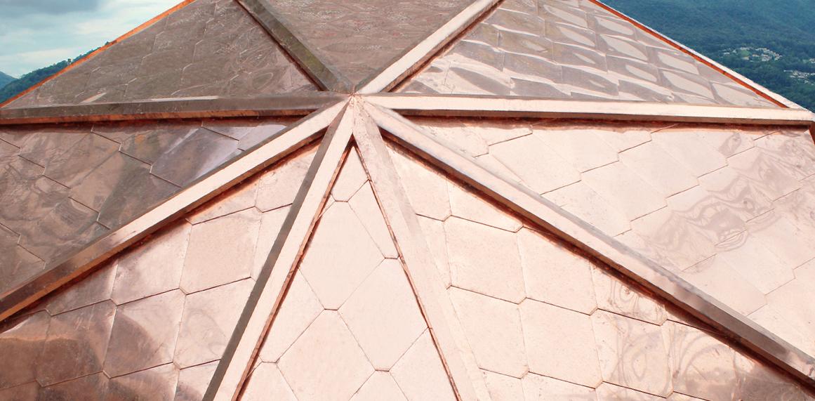 Toiture en cuivre naturel - Kite - La couverture isolante ...
